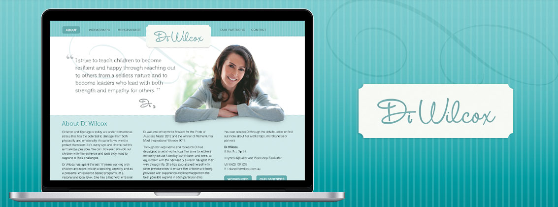 Di Wilcox Website Design