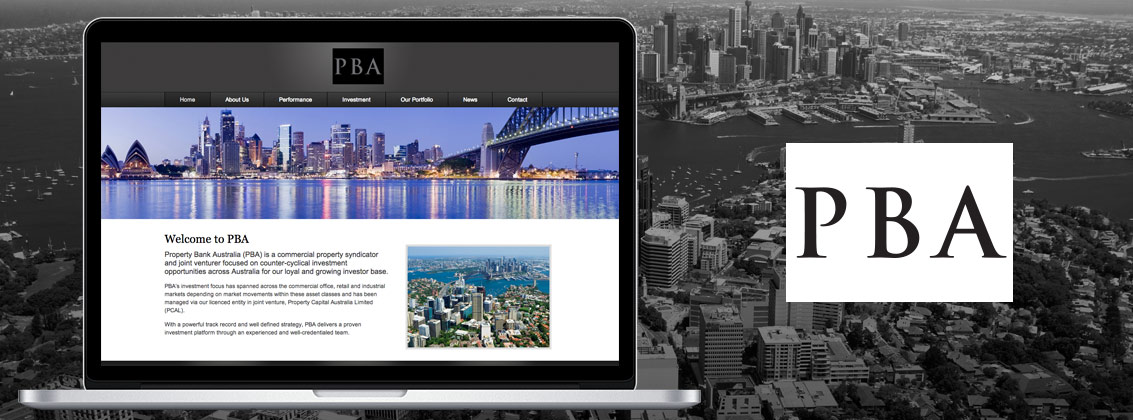 Property Bank Australia Website