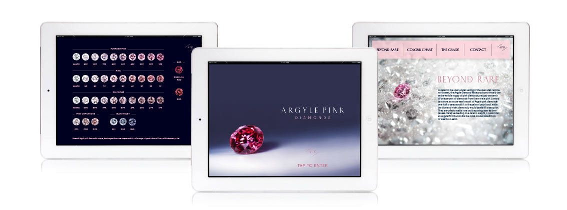Argyle Pink Diamonds iPad App