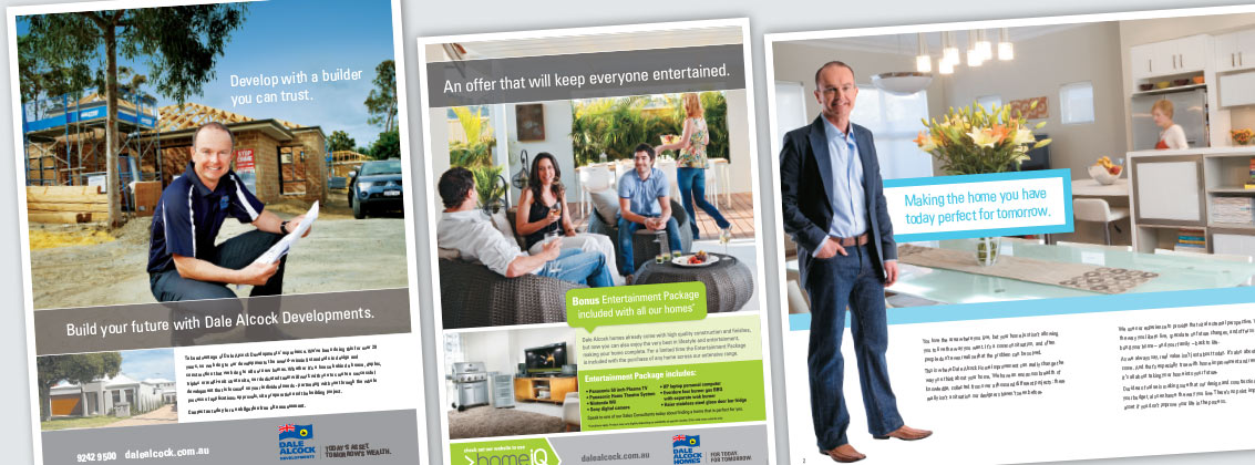 Dale Alcock Corporate Brochures