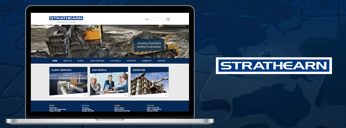 Strathearn Wordpress Website